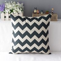 L-Series 2015 hotesale 100%cotton wholesale printed style scatter cushion