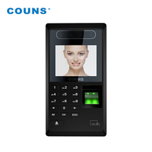 CU-F390 Face Recognition Comparecimento Do Tempo