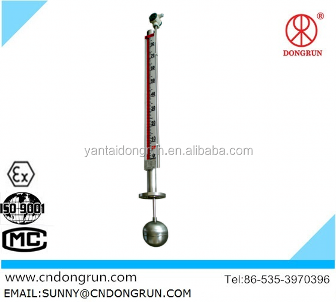 UHZ-99B gas station Magnetic Liquid Level Gauge/oil tank leve/manufacture/2014 the newest magnetic liquid level meter with alarm