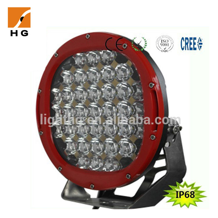 9 inch 185w round led work light super bright 15725lm 6000k led driving light