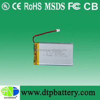 2016 hot Tablet pc replacement battery tablet PC battery 605080 3.7v 3000mAh li-polymer batteries