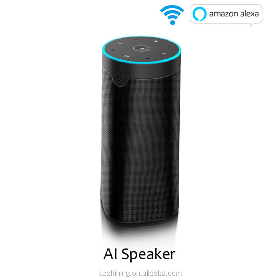 OEM ODM Smart Wifi AI Speaker Alexa Voice Remote Control Support Control Smart Device