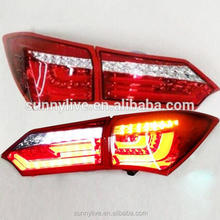 For TOYOTA Corolla LED Tail light Altis Rear Lamps Red White Color 2014-2015 Year