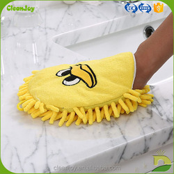 custom logo car washing cheap useful car wash glove