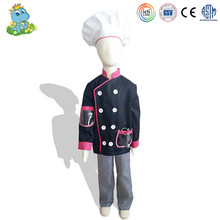 2016 wholesale personalized cheap chef role play costumes for kids