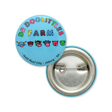 Sedex Audited Factory Direct Selling custom shapes Tin Button Badge