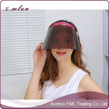 Best selling 2015 new uv cap cover face sun hat