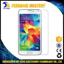Wholesale Super Hard 9H Tempered Glass Protective Film Screen Guard For Samsung S5 mobile phone