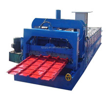 Multifunctional steel roofing sheet forming machine