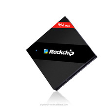 2017 Android6.0 google tv box Rockchip RK3399 H96max set top box 4G 32G multi language TV receiver