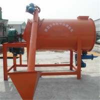 Horizontal Multifunctional Spiral Ribbon dry mortar mixer