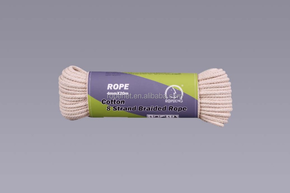 cotton braided rope