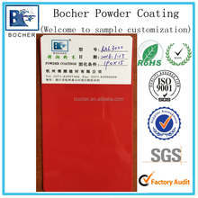 Heat resisting Red powder coating outdoor special polyester powder paint