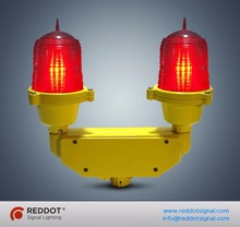 <45m double low intensity led obstruction light/LED aircraft warning light for telecom project