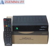 2017 New Hot Selling ZGEMMA i55 IPTV BOX Fast CPU Dual Core Linux OS Enigma2 SATIP Digital IPTV BOX No Server