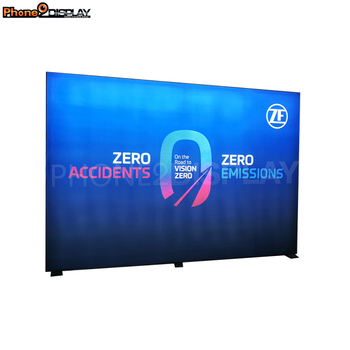10 ft x 8 ft Double Sides LED Frameless Fabric Light Box