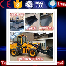 ZSZG A/C and pre-heat system 3 ton wheel loader for cold region