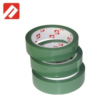 High Quality heat resistant masking green polyester tape for PCB motherboard