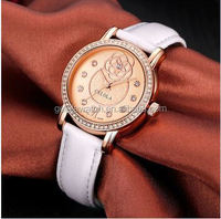 mineria glass ladies hand chain wrist alloy watch in new style watch industry
