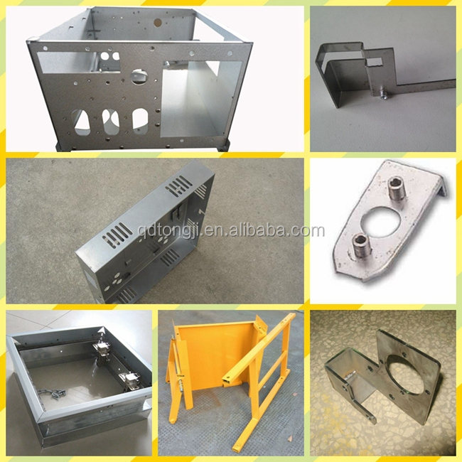 Custom CNC sheet metal fabrication stainless steel and aluminum fabrication