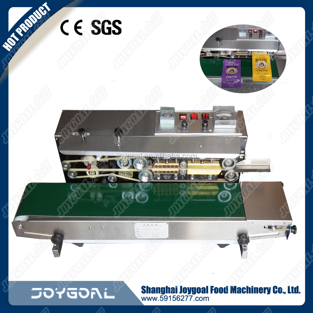 wholesale semi automatic continuous heat bag sealing machine/bag sealer
