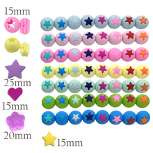 Food Grade Silicone Teething Beads Hot Baby Toys Beads For Jewelry Making