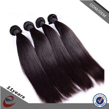 2015 New Products Natural Color Unprocessed Virgin Brazilian Straight Hair Extension