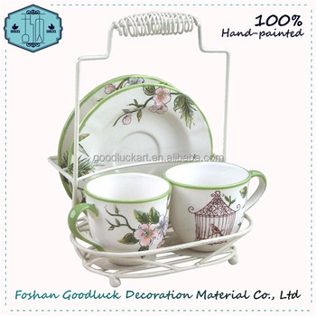 Hand Draw Ceramic Unique Tea Sets Beautiful Love Gift Girl 12 Years