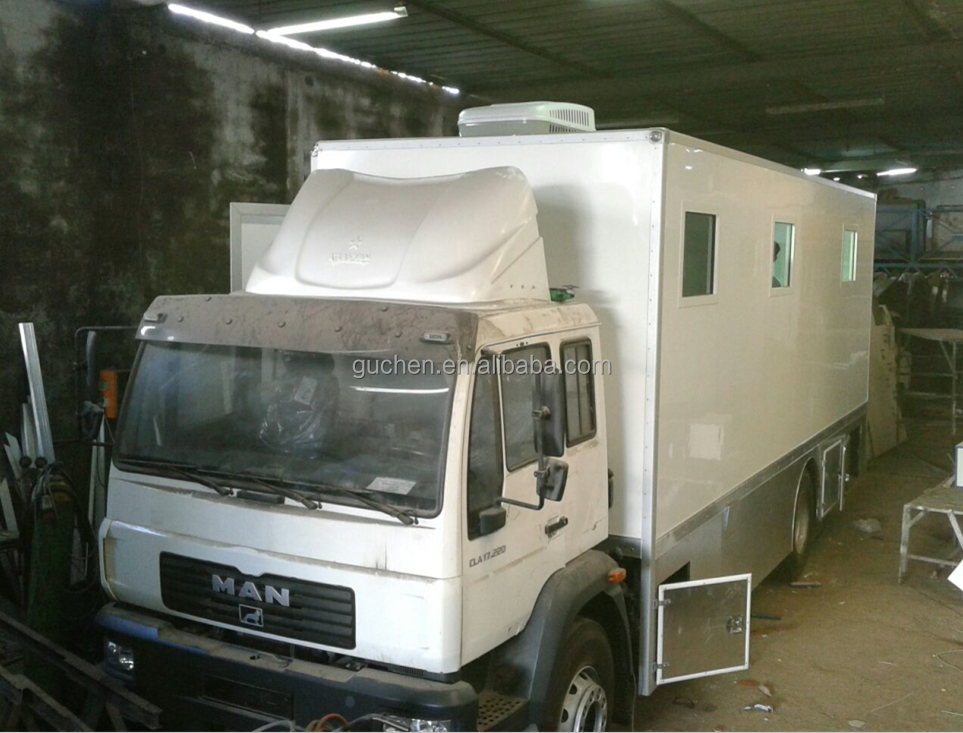 Guchen mobile clinic truck body with 4500x2100x2500mm dimension