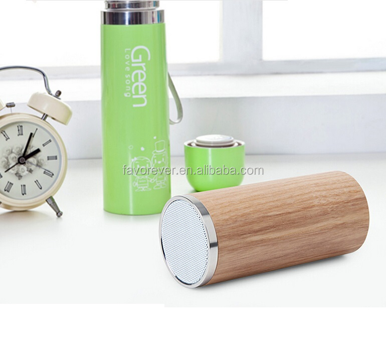 Wooden Bluetooth 3.0 Speakers 2016 NFC USB Alarm Clock Function