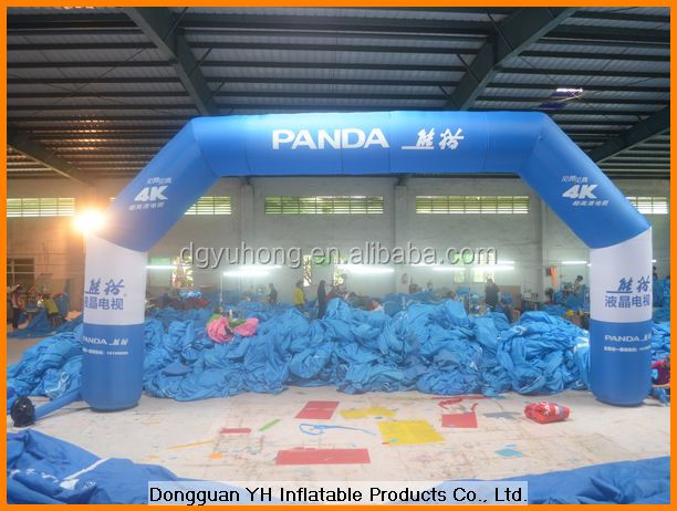 2015 promotion inflatable event arch gate for advertising