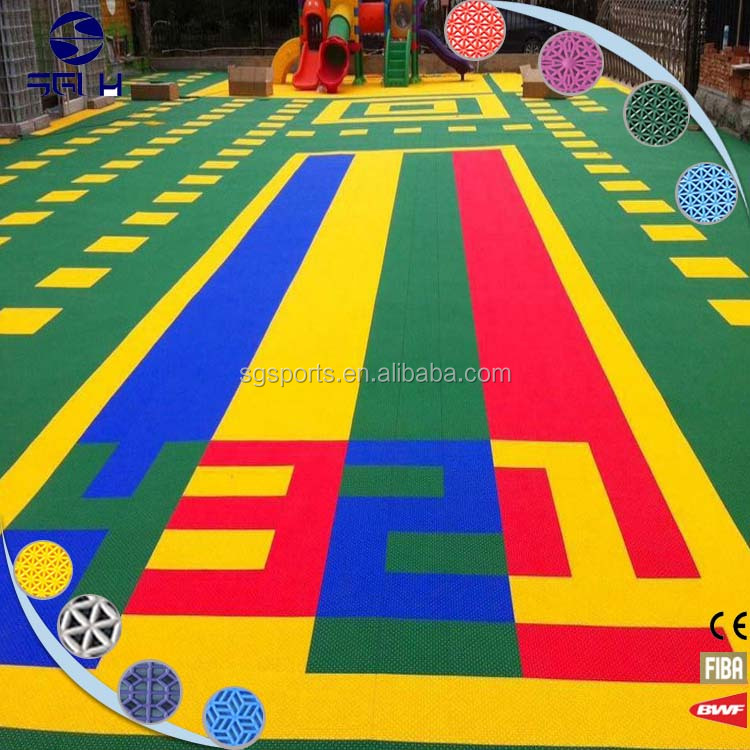 cheap temporary portable synthetic PP outdoors hard plastic flooring covering