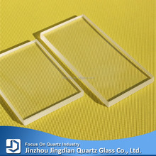 JD High Transmittance and High Pressure Resistant Boro3.3 Sheet Glass