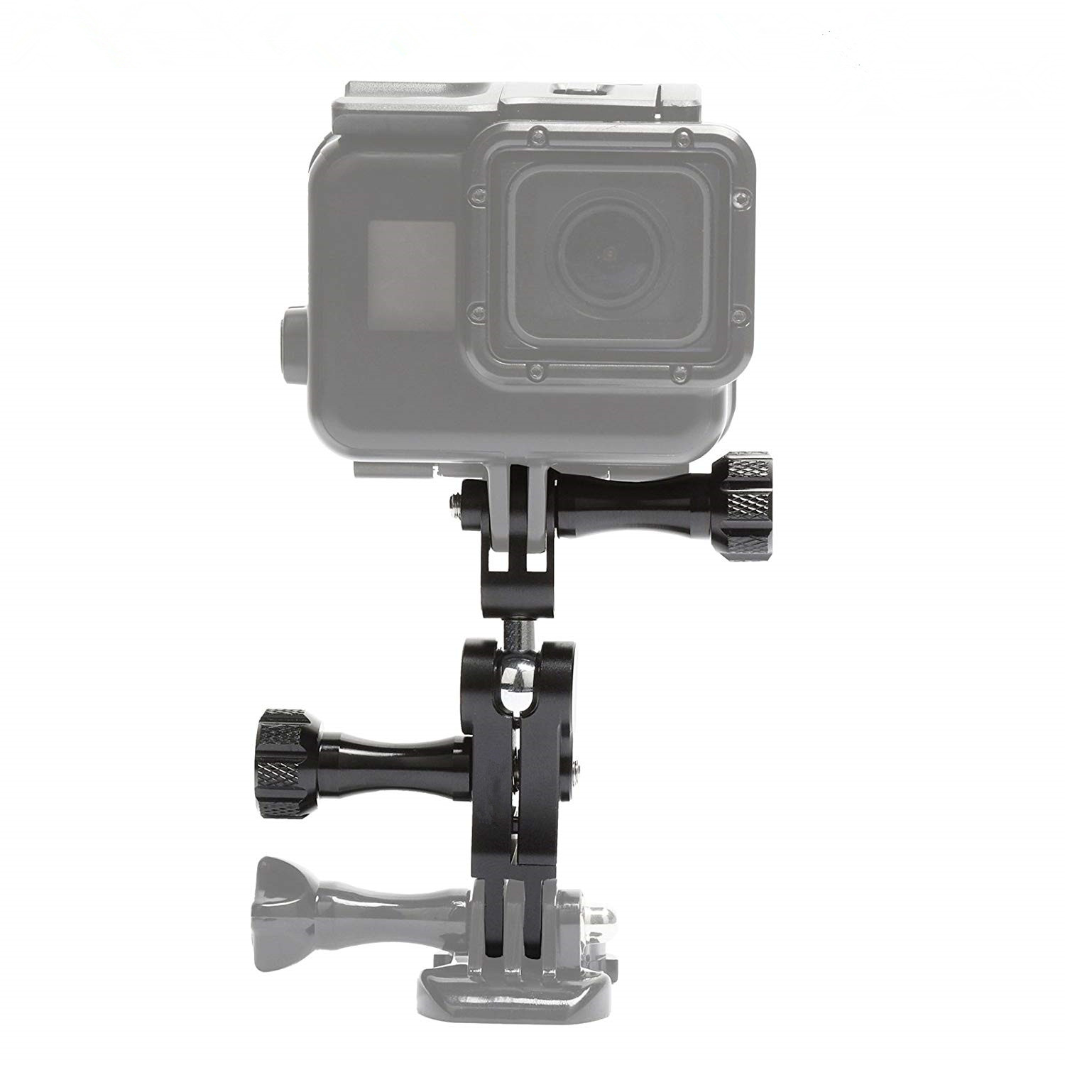 OEM Aluminium Alloy 360 Degree Rotation Ball Joint Mount Swivel Arm Bracket For Go pro 7 / 6 / 5 Etc Action Camera