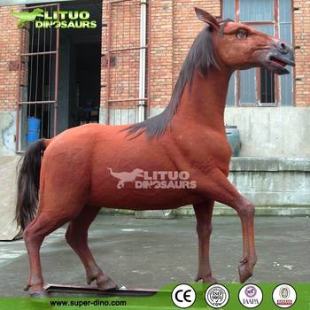 Art Animals Statue Animatronic Horse Model