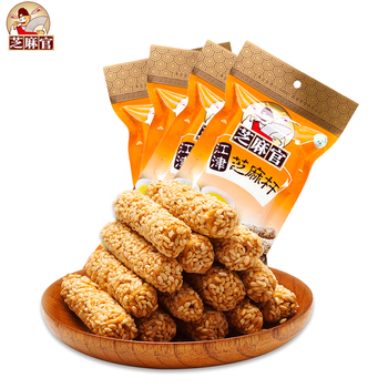Wholesale 2019 Delicious Handmade Healthy Food 210g Sweet Sesame Seed Snacks