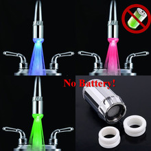Bathroom water glow faucet light for Freedom <strong>gifts</strong> limited