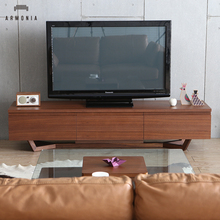 Model Design Wooden Led Tv Stand Furniture With Showcase