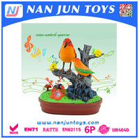 Battery operation plastic recording parrot toy for kids