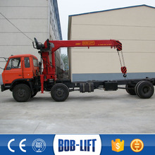 SQ8SA3 cheap price 8 ton hydraulic pump telescopic boom mini used marine crane factory for direct sales