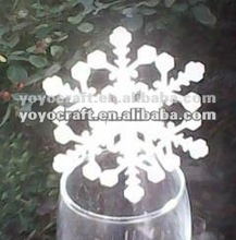 "Trail and mixed order!!Merry christmas""snowing""fancy christmas place cards for wine glass"