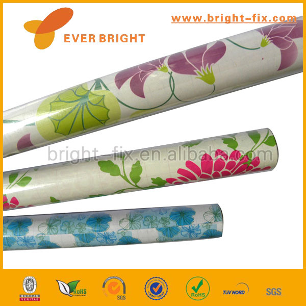 Self Adhesive PVC Protective Film,Printing Designs Self Adhesive Decorative PVC Films,Top Grade Self Adhesive Protective Film