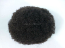 Factory price with high quality afro wigs for black men
