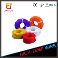 CHINA WONDERFUL CABLE COLORS 18AWG AWM UL1332 SINGLE STRAND CORE ELECTRIC TEFLON COPPER WIRE FOR ELECTRICAL COOKER