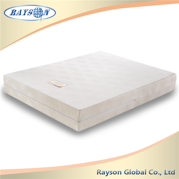 Knitted Fabric Zipper Sponge Mattress Damaged Bedroom Furniture For Sale