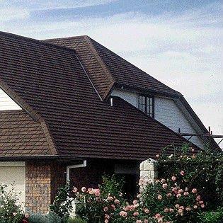 Wanael piedra de metal revestido teja acero tipos de techo for Tipi di tetto