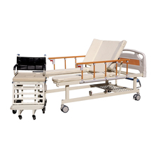 china metal lifting elderly nursing home care bed