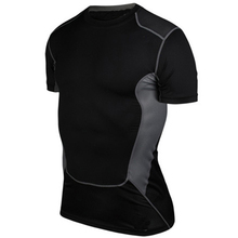 Mens <strong>Sports</strong> Athletic Body Armour Compression Under Layer Base Wear T-shirt Tops