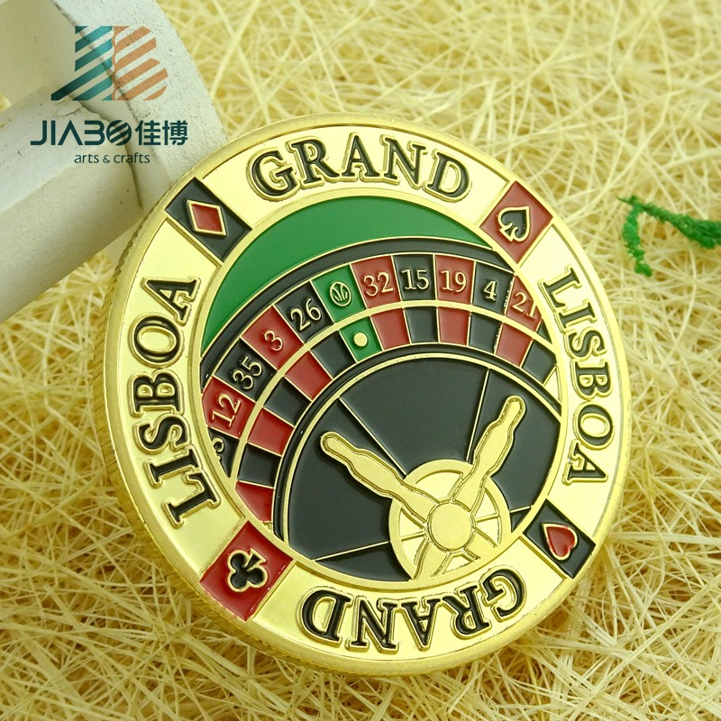 New design custom own logo soft enamel gold challenge metal souvenir coin for sale