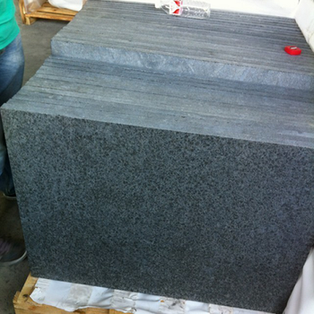 Cheap Flamed 30mm Thick Black Granite Tiles For Sale Buy